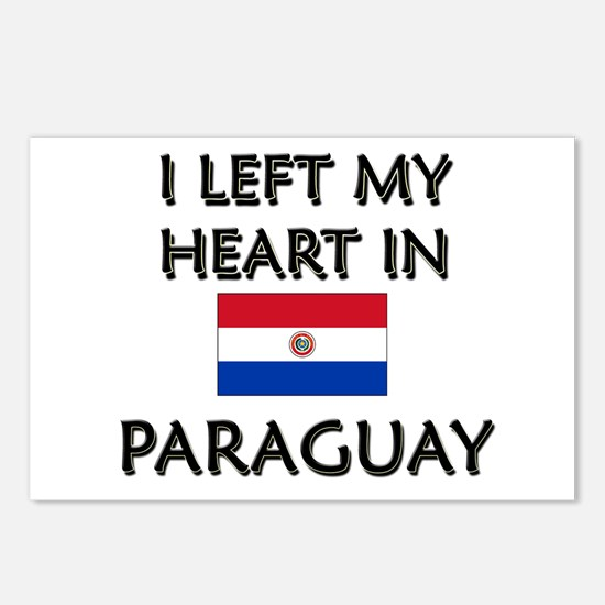 I Left My Heart In Paraguay Postcards (Package of
