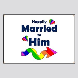 Married to Him Right Arrow Banner