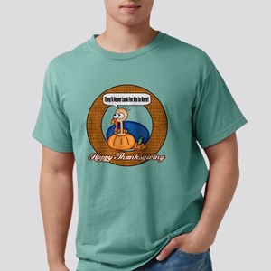 thanksgiving t-shirts Mens Comfort Colors Shirt