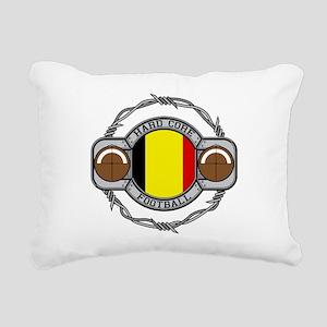 Belgium Football Rectangular Canvas Pillow