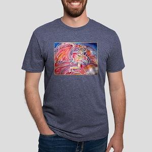 Fiesta dancer! art! Mens Tri-blend T-Shirt