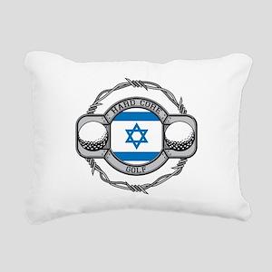 Israel Golf Rectangular Canvas Pillow