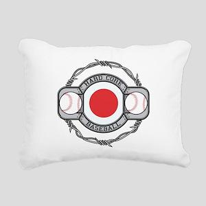 Japan Baseball Rectangular Canvas Pillow