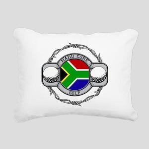 South Africa Golf Rectangular Canvas Pillow