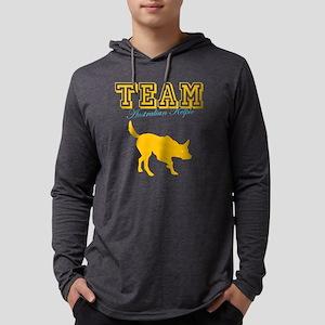 aust kelpieW Mens Hooded Shirt