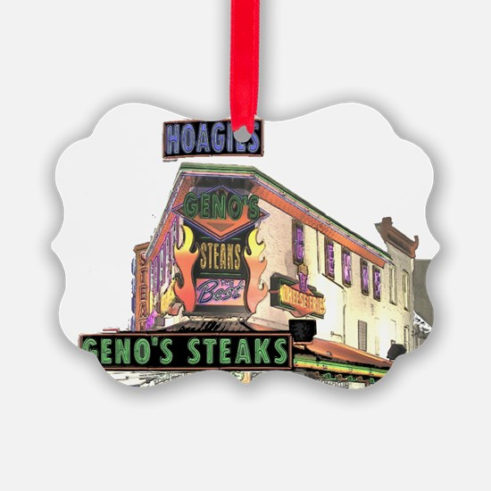 Cute Steak Ornament