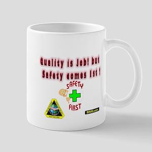 safty comes first (1) Mug