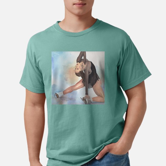 sasha ending clock.jpg Mens Comfort Colors Shirt