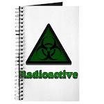 Green Radioactive Symbol Journal