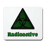 Green Radioactive Symbol Mousepad