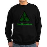 Green Radioactive Symbol Sweatshirt (dark)