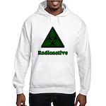Green Radioactive Symbol Hooded Sweatshirt