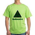 Green Radioactive Symbol Green T-Shirt