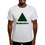 Green Radioactive Symbol Light T-Shirt
