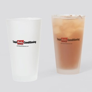 Fitness shirts and apparel Drinking Glass