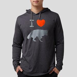 belgian sheepdogL Mens Hooded Shirt