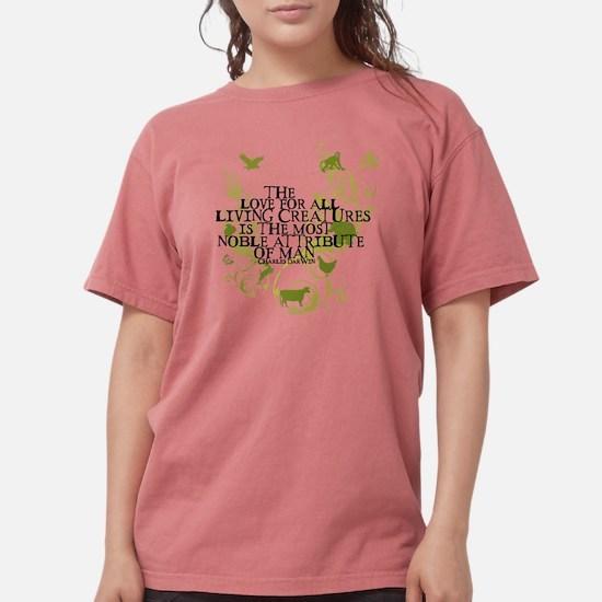 2-darwin_vi ne_animals Womens Comfort Colors Shirt