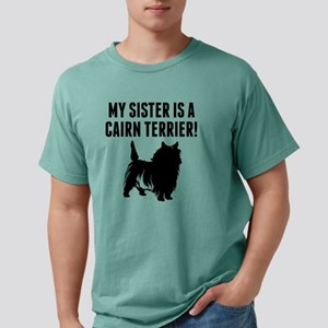 My Sister Is A Cairn Ter Mens Comfort Colors Shirt