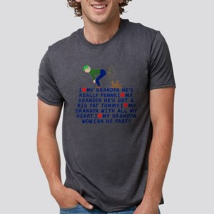 3-GRADFRT Mens Tri-blend T-Shirt