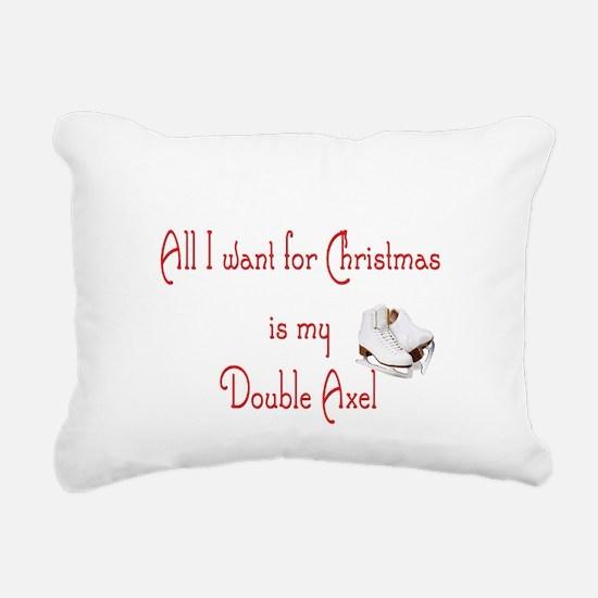 doubleaxel.png Rectangular Canvas Pillow