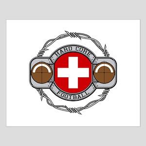 Switzerland Football Small Poster