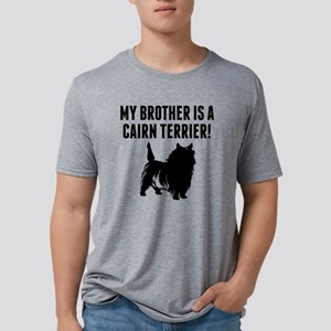 My Brother Is A Cairn Terri Mens Tri-blend T-Shirt