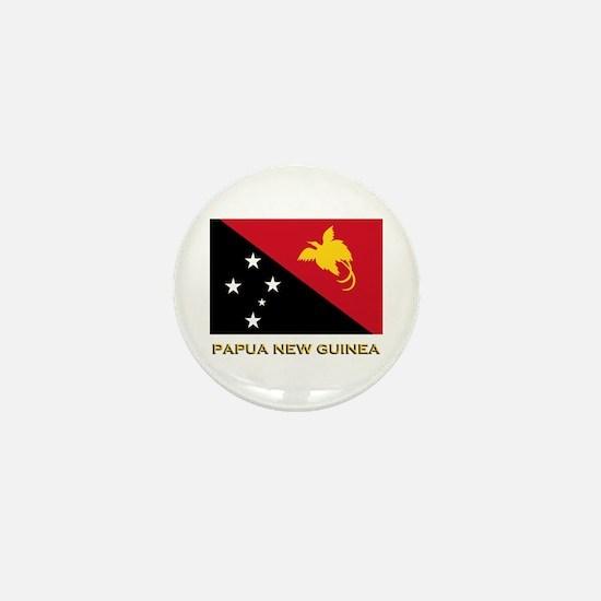 Papua New Guinea Flag Gear Mini Button