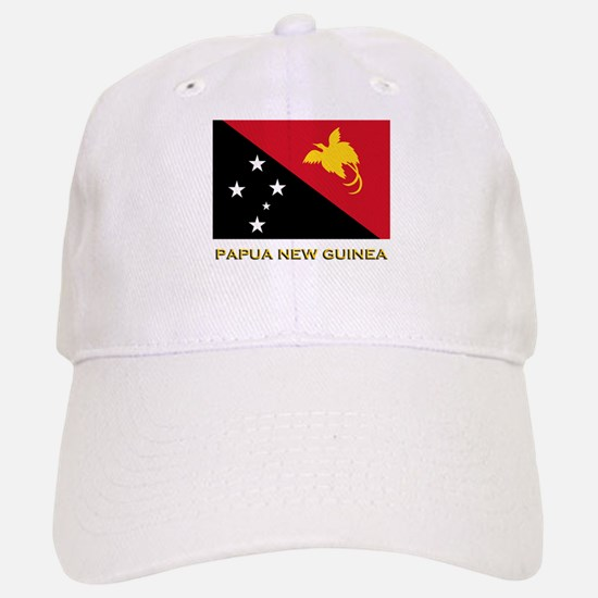 Papua New Guinea Flag Gear Baseball Baseball Cap