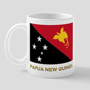 Papua New Guinea Flag Gear Mug