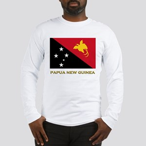 Papua New Guinea Flag Gear Long Sleeve T-Shirt