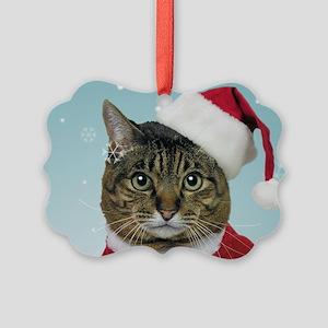Santa Claws Picture Ornament