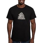 1000 Paper Cranes Men's Fitted T-Shirt (dark)