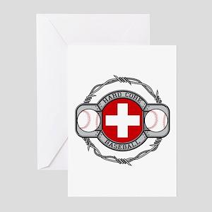 Switzerland Baseball Greeting Cards (Pk of 10)