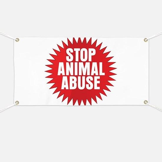 Stop Animal Testing Signs