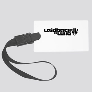 Laidback Luke Large Luggage Tag