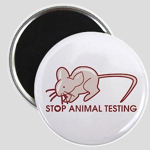 Stop Animal Testing Magnet