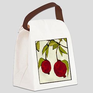 pomegranates Canvas Lunch Bag
