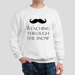 'Staching Through the Snow Sweatshirt