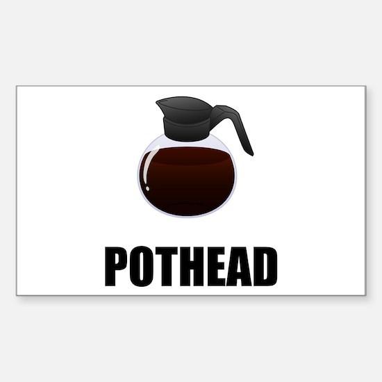 Coffee Pothead Decal