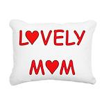 LoveMom4 Rectangular Canvas Pillow