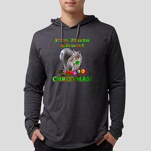 nutsxmas Mens Hooded Shirt