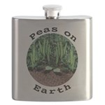 Peas On Earth Flask