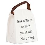 WeedYard Canvas Lunch Bag
