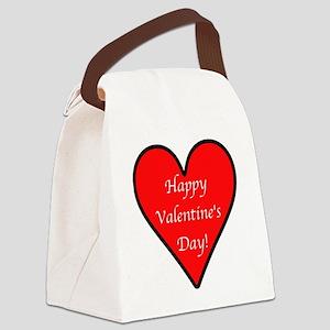 HappyVdayD Canvas Lunch Bag