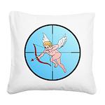 TargetCupidB Square Canvas Pillow
