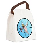 TargetCupidB.png Canvas Lunch Bag