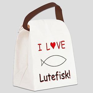 LoveLutefiskT Canvas Lunch Bag