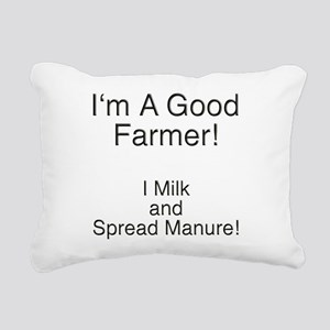 A Good Farmer Rectangular Canvas Pillow