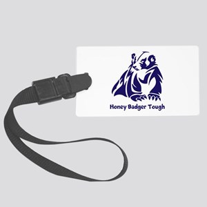 Honey Badger tough Large Luggage Tag
