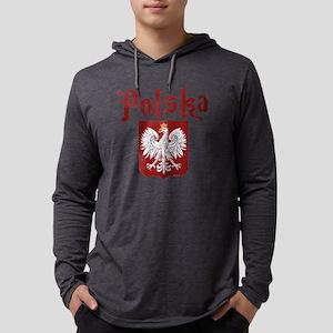 Polska Mens Hooded Shirt